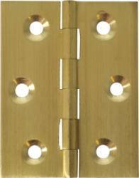 Borsani profielscharnieren 300L - 70 x 55 mm - Messing en geborsteld